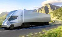 Så mycket drar laddning av Teslas lastbil