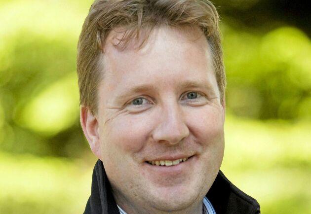 Martin Niklasson, växtodlingsrådgivare på hushållningssällskapet i Väst.