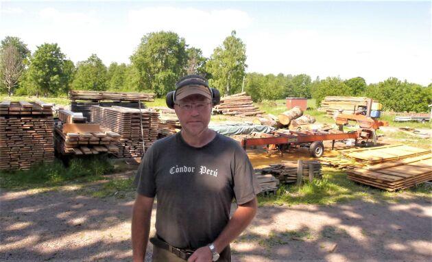 Skogsintriktade mångbruksföretag behöver bli bättre på att samarbeta, tycker Micael Frisk.