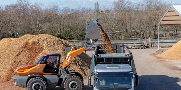 Case-lastare på biogas