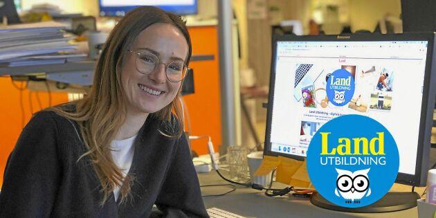 Nu lanserar Land nya webbutbildningar – en digital skola för alla