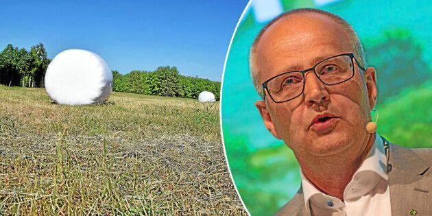 4 av 10 bönder har grovfoderbrist i vinter