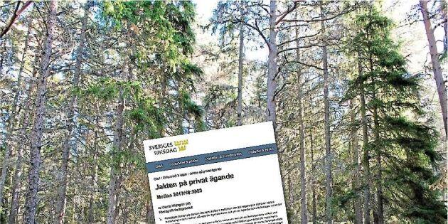 Skogsmotionärernas favoritämne