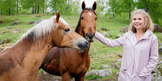 """Olivia fick diagnosen ADHD som vuxen: """"Skogen och djuren på gården gör mig trygg"""""""