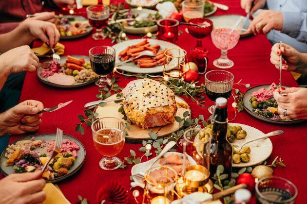 Satsa på ett julbord med råvaror från Sverige.
