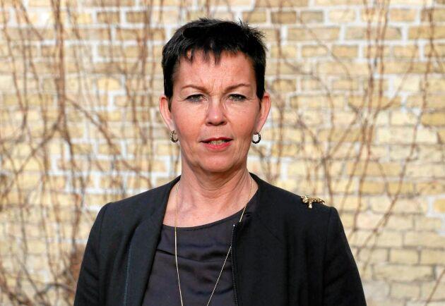 Marianne Andersson, ordförande för LRF Skåne, tycker att det är bekymmersamt att grundvattnet innehåller höga halter växtskyddsmedel.