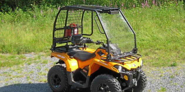 Lag på skyddsbåge för fyrhjuling