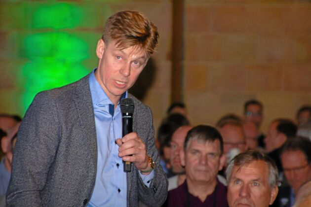 Kim Heiselberg är nyvald ordförande för den ofta ganska upproriska branschorganisationen Danske Svineproducenter.