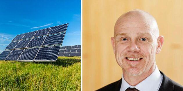 Jordbruksveteran ny generaldirektör på Energimyndigheten