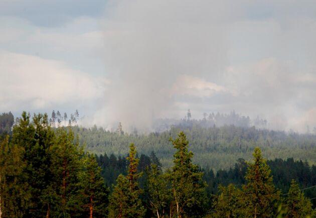 Efter förra sommarens omfattande skogsbränder, bland annat den här utanför skogsbranden utanför Ljusdal, har MSB vidtagit ett antal åtgärder för att Sverige ska vara bättre rustad.