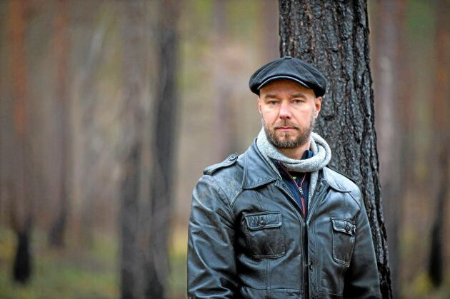 """Sven Olov Karlsson har bland annat skrivit boken """"Brandvakten"""", som handlar om den omfattande skogsbranden i Västmanland 2014."""