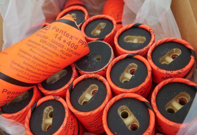 Orica tillverkar sprängmedel för användning vid gruvdrift.
