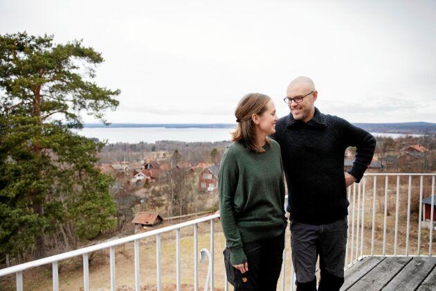 Både Anna och Torbjörn längtade tillbaka till Dalarna där de växte upp.