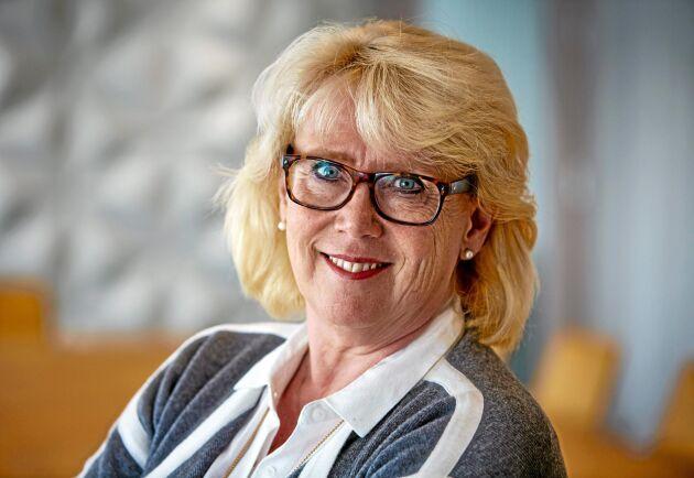 – Vi kommer definitivt att fortsätta på vägen att göra fler produkter av samma kubikmeter, säger Lena Ek inför arbetet med den nya affärsplanen.