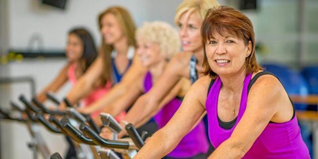 Studie: Kvinnor kan slippa demens – genom kondition