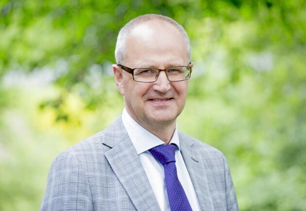 Palle Borgström, förbundsordförande LRF.