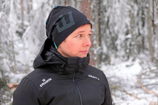 Linnéa Carlsson, teknikspecialist på Sveaskog.