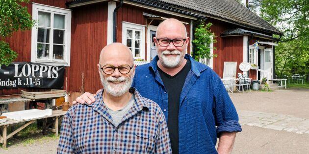 Affe och Thomas café får småländska Berga att leva upp