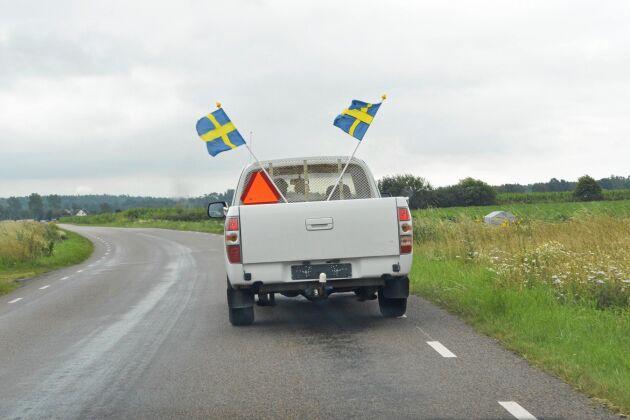 Antalet registrerade A-traktorer ökar i Sverige.