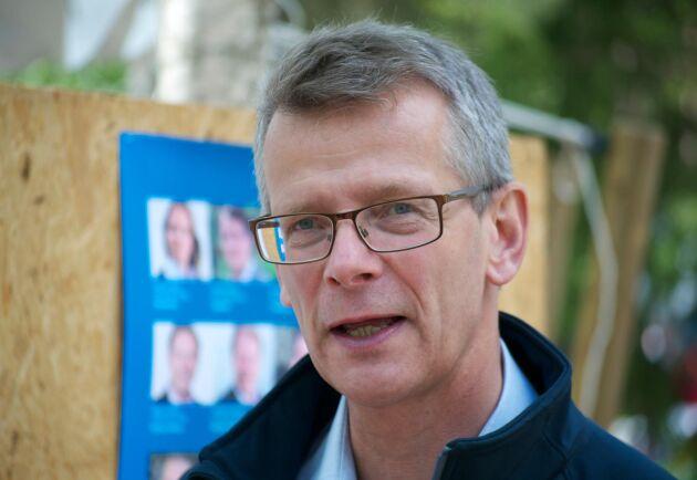 """""""De skogsägare som kan, bör avverka nu om de vill passa på att sälja till toppriser"""", säger Johan Freij."""