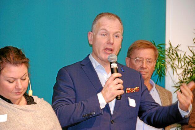 Gilbert Tribo, gruppledare för Liberalerna i Region Skåne.
