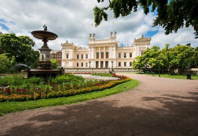 Sammanlagt äger Lunds universitet över 1200 hektar i ett av Sveriges mest expansiva områden.
