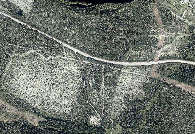 Utanför Laforsen i Ljusdals kommun.