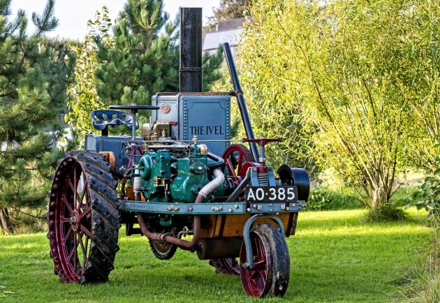 3,86 miljoner kronor är Cheffins rekord för en veterantraktor. Summan betalades in för att lägga vantarna på den här smått unika 1903 Ivel Agricultural Motor.