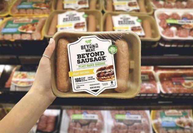 Beyond Meat grundades 2009. Nu har aktien släppts på Wall Street. Första dagen ökade värdet på dessa med 163 procent.