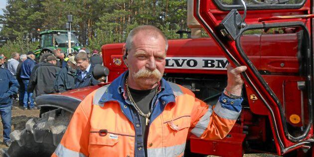Han ropade hem BM-traktorn för ny rekordsumma