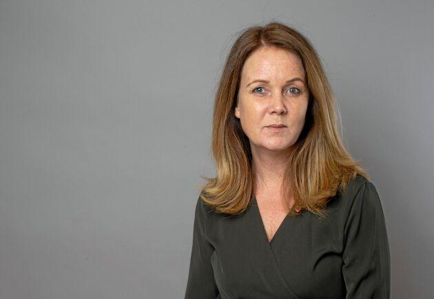 """""""Jag söker det som förenar och man kan bygga vidare på, och är duktigare på det än på att söka konflikt"""", säger Sveriges nya landsbygdsminister Jennie Nilsson (S)."""