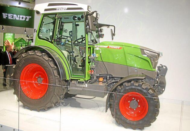 Eltraktor är ett alternativ i fossilfri produktion.