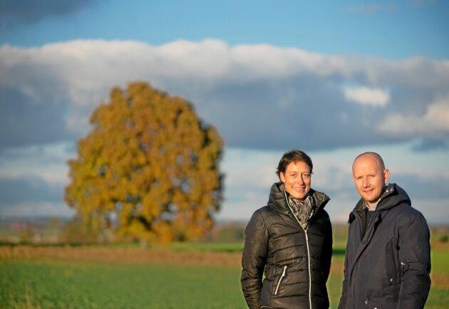 Petra Cullborn Hastings och Johan Helmvik, LRF Konsult.