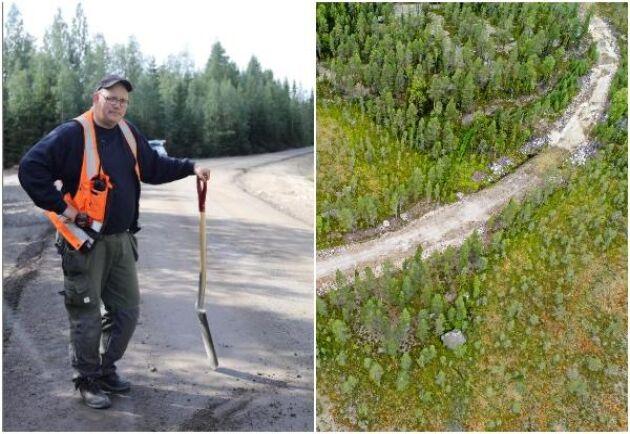 Det finns cirka 20 000 mil skogsbilvägar i dag i Sverige och det tillkommer cirka 100 mil per år. Det som avgör om byggkostnaderna drar i väg eller inte är när under året vägen ska ge åtkomst till skogsråvaran, säger forskaren Mikael Bergqvist.