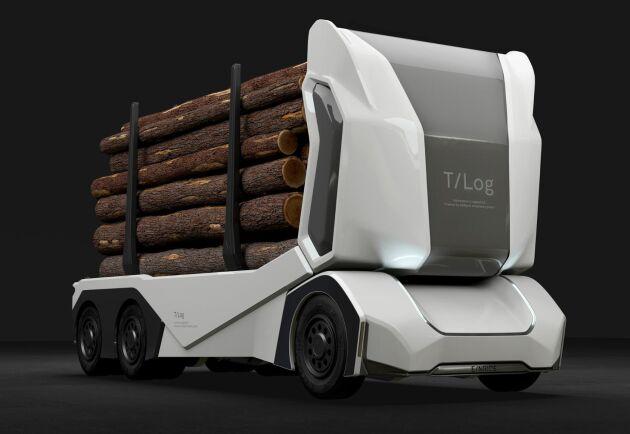 Skogforsk och Stockholm Environment Institute (SEI) samarbetar bland annat med Einride, som utvecklat en eldriven och självkörande timmerbil.