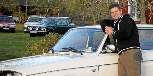 Henrik samlar på Volvo 240 – se alla bilderna!