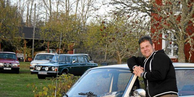Henrik samlar på Volvo 244