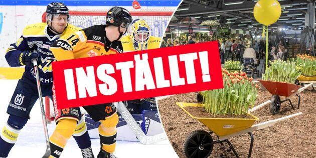 Folksamlingar stoppas i hela Sverige – dessa event ställs in på grund av coronasmittan
