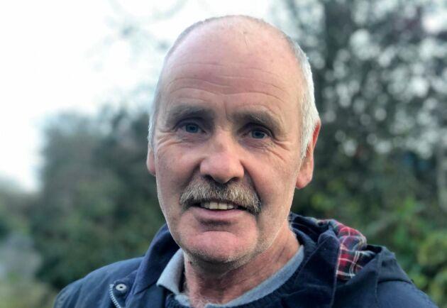 Thomas Rogers har drivit sin mjölkgård sedan han gick ut skolan och inkomsterna från gården är grund för familjens ekonomi. Nu är han orolig att det blir varje enskild lantbrukare som får ta kostnaden som eventuella höjda tullavgifter för med sig.
