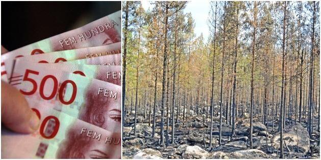 """32 miljoner i brandstöd kvar: """"Dålig information"""""""