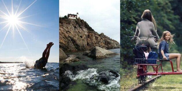 Världens vackraste land! 10 platser för dig som vill hemestra