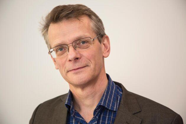 Johan Freij, chef för affärsområdet Skog & Lantbruk på Danske Bank.