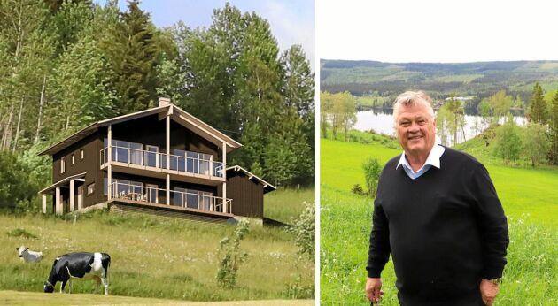 Dan Olofsson är stolt över de arkitektritade ekohusen som snart börjar byggas i Kaxås.