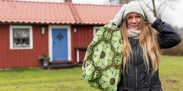 Christin växlade ner – och lever på 27000 kronor per år