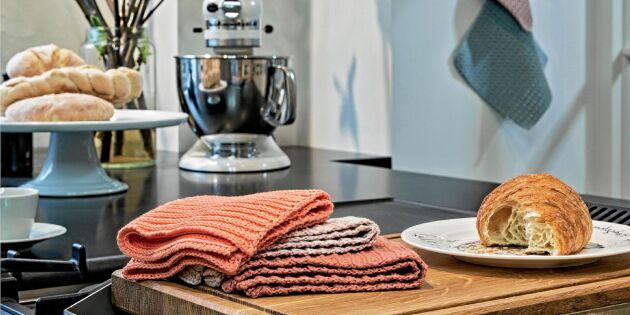 Virka en ribbad disktrasa – miljövänliga favoriten i köket!