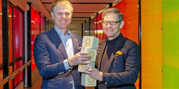 Tekniska muséet och Stora Enso bygger hållbart i massivträ
