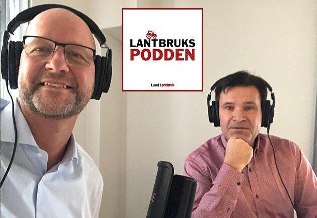 Magnus Oscarsson, landsbygdspolitisk talesperson för Kristdemokraterna medverkar i det nya avsnittet av Lantbrukspodden där han intervjuas av Göran Berglund.
