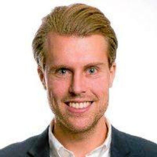 Adam Engström, VD och grundare till företaget Nutrient.