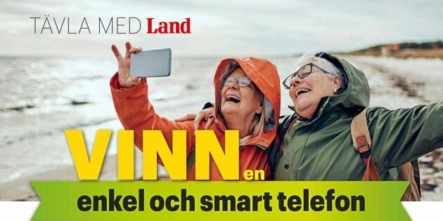 AVSLUTAD: Vinn en enkel och smart telefon från Doro
