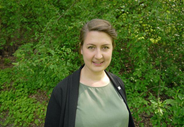 Sofia Sollén-Norrlin, verksamhetsledare för Ekologiska lantbrukarna.